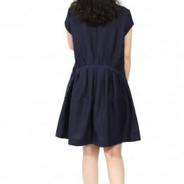 2015 fashion printed Cotton/Linen Maternity Dress Vestido Gravida Summer Clothes For Pregnant Women 2015 Summer Plus Size 2XL