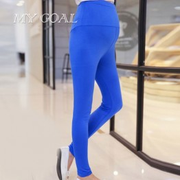 spring/summer High Waist Maternity Pants Abdominal Casual fashion thin belly trousers pregnant women clothes