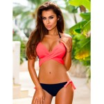 2016 Low Waist Bikini Push Up Swimwear Female Bathing Suit Set  Summer Beachwear Women