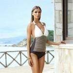 2017 Ariel Sarah Brand One Piece Swimsuit Plus Size Swimwear Women Brazilian Bandage Sexy Beachwear Monokini XXL Q013