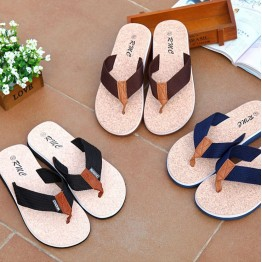 2017 Hot Sale Summer Classic Flip Flops Men Casual Flats Sandals Fashion Summer Beach Shoes Cheap Top Quality Non-slip Slippers
