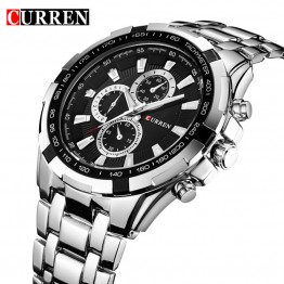 CURREN 8023 Men Watches Top Brand Luxury Men Military Wrist Watches Full Steel Men Sports Watch Relogio Free for Regulator
