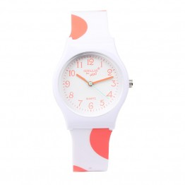 Fashion Simple Popular Cute Boys Girls Students Waterproof Jelly Watch Gift Hot Hight Quality Children Silicone  Watch