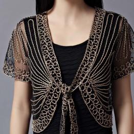 2017 women top lace shirt women  Summer Fashion Womens Clothing Wild  plus size Lace blouses black beige white color 802E 30